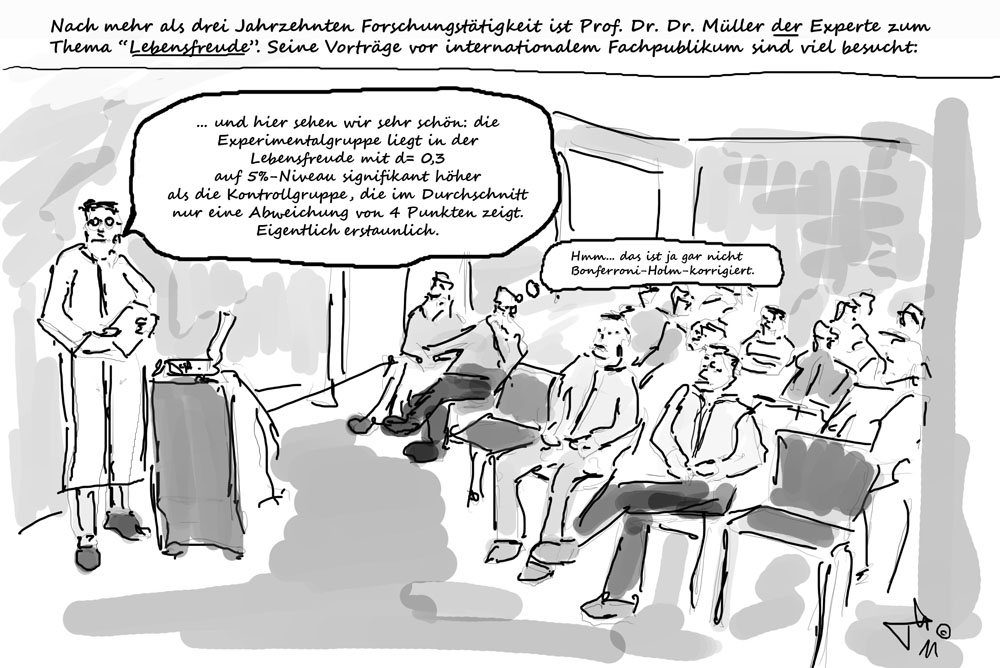 Lebensfreude pur - Cartoon TH